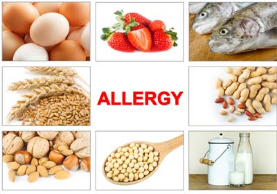 Food allergies are treated by the doctors at Redding Allergy and Asthma Specialists